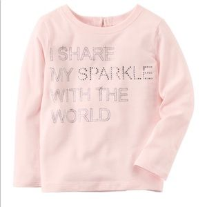 Toddler Sparkle long sleeve 5T